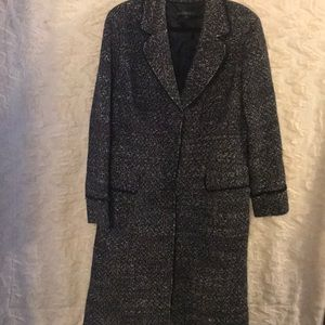 "Lafayette 148 size 16"" wool blend dress coat EUC"
